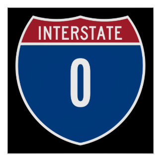Zero Interstate Poster