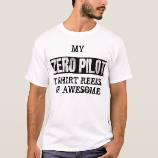 ZERO PILOT - awesome T-Shirt