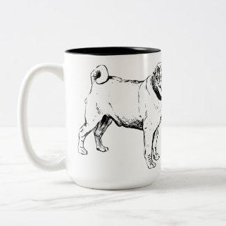 Zero Pucks Given Two-Tone Coffee Mug