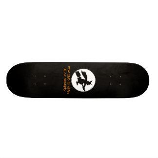 Zero to Witch Silhouette Style Skateboard