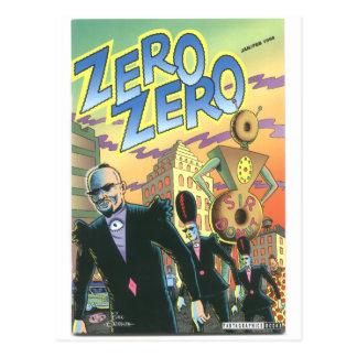 Zero Zero Jan 1996 Post Cards
