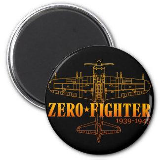 ZEROFIGHTER4 6 CM ROUND MAGNET
