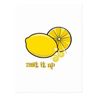 Zest It Up Postcards