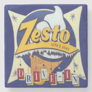 Zesto, Atlanta Landmark Marble Coaster