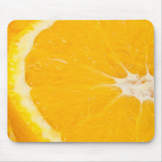 Zesty orange. mouse pad