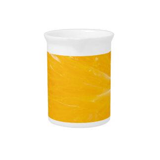 Zesty orange. pitcher