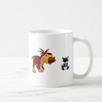 Zeta and Stealth Basic White Mug
