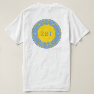 Zeta Beta Tau   Badge T-Shirt
