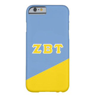 Zeta Beta Tau | Greek Letters Barely There iPhone 6 Case