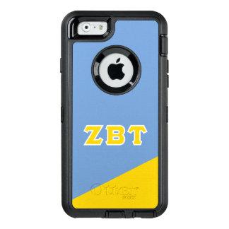 Zeta Beta Tau | Greek Letters OtterBox Defender iPhone Case