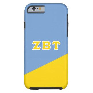 Zeta Beta Tau | Greek Letters Tough iPhone 6 Case