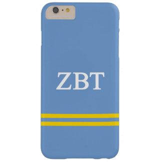 Zeta Beta Tau   Sport Stripe Barely There iPhone 6 Plus Case