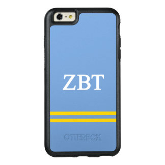 Zeta Beta Tau   Sport Stripe OtterBox iPhone 6/6s Plus Case