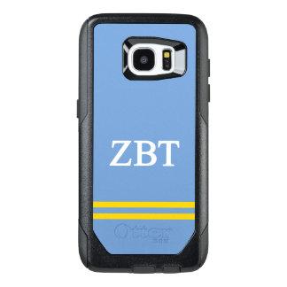 Zeta Beta Tau | Sport Stripe OtterBox Samsung Galaxy S7 Edge Case