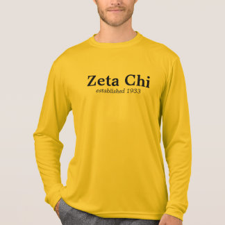 Zeta Chi long sleeve T-Shirt