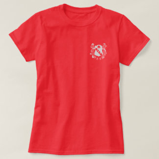 Zeta Gamma Alpha Basic Women's Maroon Crest Shirt