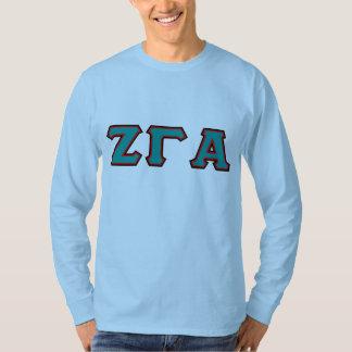 Zeta Gamma Alpha Blue Long Sleeve Tee