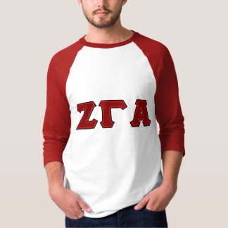 Zeta Gamma Alpha Fraternity Tailgate Long Sleeve T T-Shirt