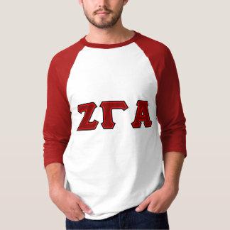 Zeta Gamma Alpha Fraternity Tailgate Long Sleeve T Tees