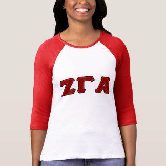 Zeta Gamma Alpha Sorority Tailgate Long Sleeve top T-shirts