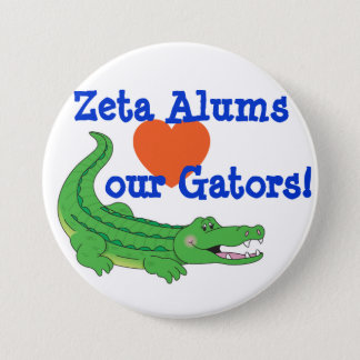 Zeta loves the Gators pin