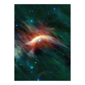 Zeta Ophiuchi - A Future Supernova 14 Cm X 19 Cm Invitation Card