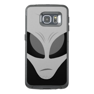 Zeta Reticulan Alien Grey OtterBox Samsung Galaxy S6 Edge Case