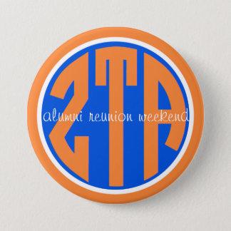 zeta reunion original 7.5 cm round badge