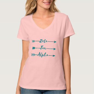 Zeta Tau Alpha Arrow T-Shirt