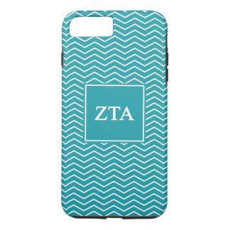 Zeta Tau Alpha   Chevron Pattern iPhone 8 Plus/7 Plus Case