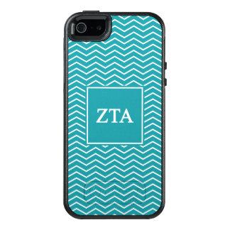 Zeta Tau Alpha   Chevron Pattern OtterBox iPhone 5/5s/SE Case