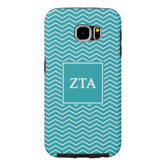 Zeta Tau Alpha | Chevron Pattern Samsung Galaxy S6 Cases
