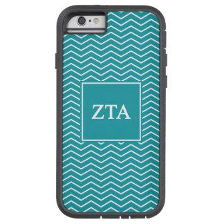 Zeta Tau Alpha   Chevron Pattern Tough Xtreme iPhone 6 Case