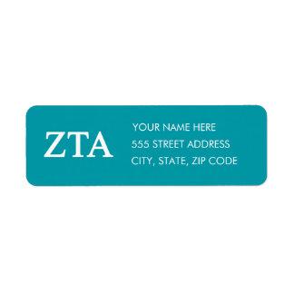 Zeta Tau Alpha Lil Big Logo