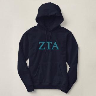 Zeta Tau Alpha Lil Big Logo Hoodie