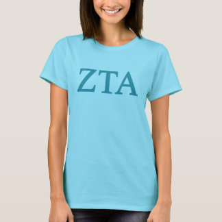 Zeta Tau Alpha Lil Big Logo T-Shirt