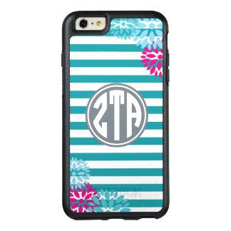 Zeta Tau Alpha | Monogram Stripe Pattern OtterBox iPhone 6/6s Plus Case