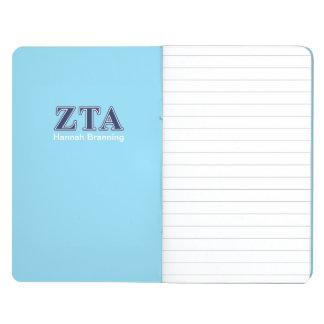 Zeta Tau Alpha Navy Letters Journal