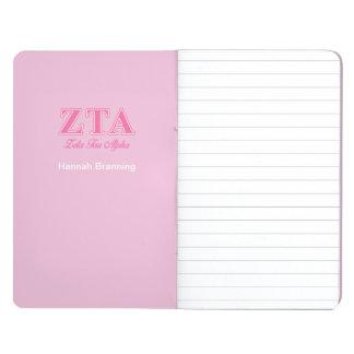 Zeta Tau Alpha Pink Letters Journal