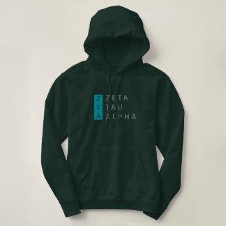 Zeta Tau Alpha Stacked Hoodie
