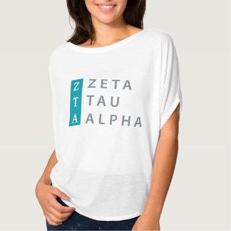 Zeta Tau Alpha Stacked T-Shirt
