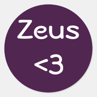 Zeus <3 sticker