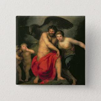 Zeus and Hera on Mount Ida, 1775 15 Cm Square Badge