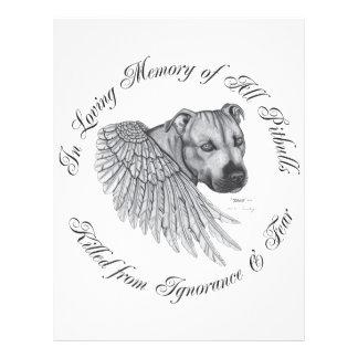 Zeus angel 21.5 cm x 28 cm flyer