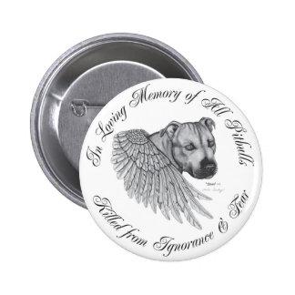 Zeus angel 6 cm round badge