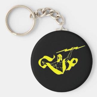 Zeus Basic Round Button Key Ring