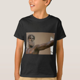 Zeus bronze statue in Athens Greece T-Shirt
