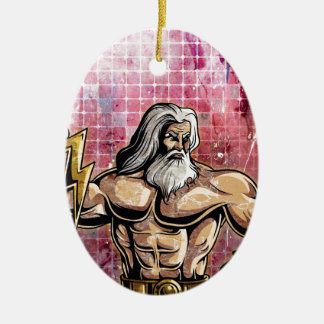 Zeus Christmas Ornament