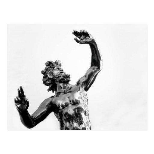 Zeus, greek god postcards