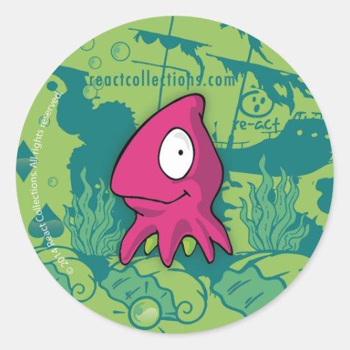 Zeus, the octopus sticker